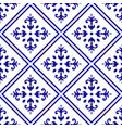 floral tile pattern vector image vector image
