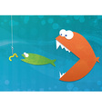 food chain vector image
