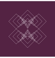 Geometry figure for design vector image