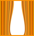 image of yellow curtain vector image