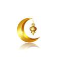 ramadan mubarak background kareem isolate vector image vector image