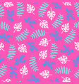 summer pattern vector image vector image