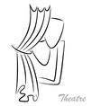 Theater illiustration vector image
