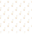 white goose pattern seamless vector image