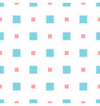abstract geometric pattern with small squares vector image vector image