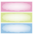abstract pattern banner vector image