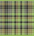 green check plaid tartan seamless pattern vector image