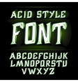 label font modern style Absinthe vector image vector image