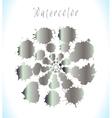 metallic paint blob background vector image vector image