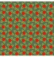 Rowan berries pattern vector image