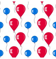 seamless of different baloons for holidays vector image