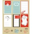 Set journaling card and logotypes