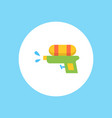 water gun icon sign symbol vector image