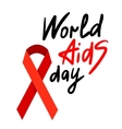 World AIDS Day 1st December vector image