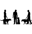 Guide dog vector image