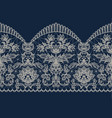 beige lace ribbon vector image vector image