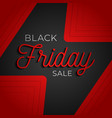 black friday flash big sale square poster graphic vector image vector image