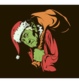Grinch Stole Christmas vector image vector image