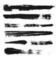 Grunge Brushes Set 3 vector image
