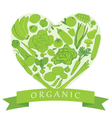 Organic Groceries vector image vector image