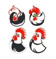 set cocks vector image