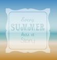 Summer quote background vector image vector image