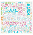 Business Loan An Effective Tool for Growth text vector image vector image