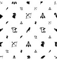 feather icons pattern seamless white background vector image vector image