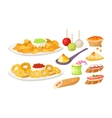 Healthy breakfast vector image vector image