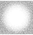 Silver glitter bright vector image