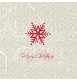 snowflake background 2208 vector image vector image