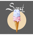 Sweet ice cream vector image vector image