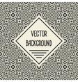 background with geometric seamless patterns vector image