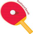 Backhand Bandit vector image vector image