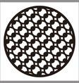 circle ornament vector image vector image