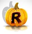Halloween Pumpkin R vector image vector image