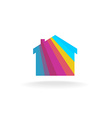 House symbol vector image