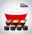 japanese food vector image vector image
