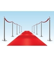 Red Carpet Isolated