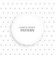 small polka dots pattern background vector image vector image
