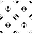 vinyl pattern seamless black vector image vector image