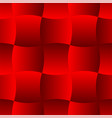 3d curve tile seamless pattern red 001