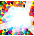 Abstract colorful mosaic vector image vector image