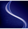 dark blue background with wavy elements vector image vector image