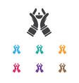 of dyne symbol on spirituality vector image vector image