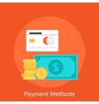 Payment Methods vector image