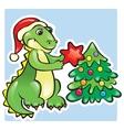 Year of Dragon vector image vector image