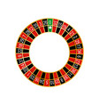 detailed casino roulette vector image