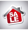 sale house vector image