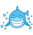 Smile Shark vector image